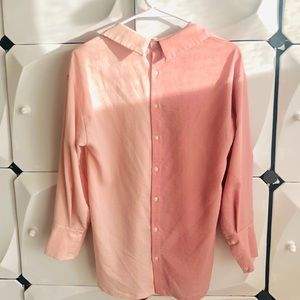 Tops - Oversize double-side blouse